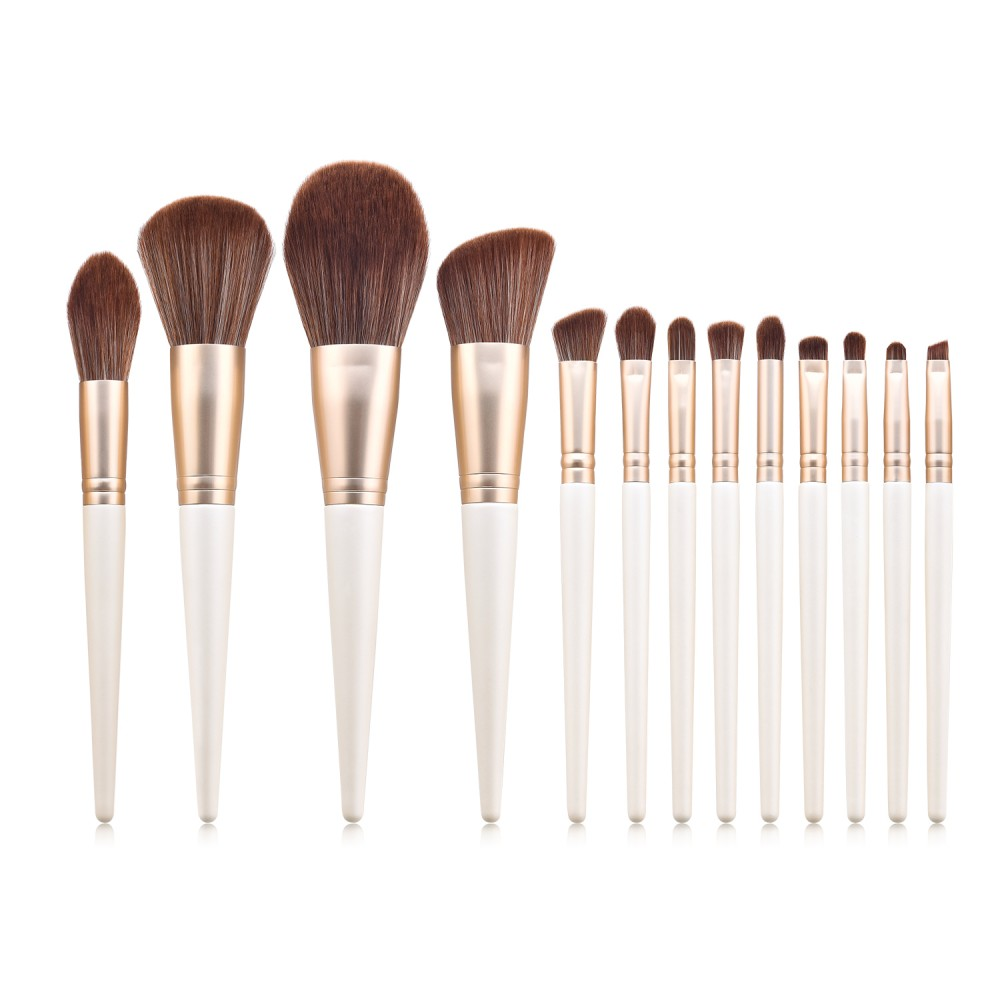 Professional 13 piece makeup brushes set