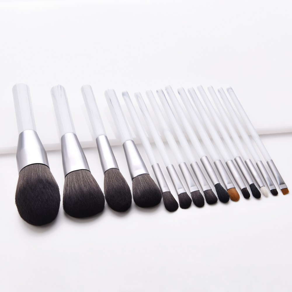 luxury 15pcs makeup brushes set