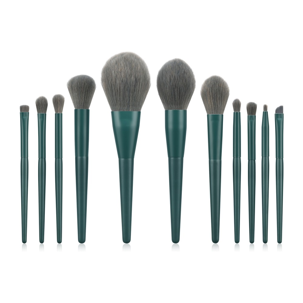 11pcs cruelty-free makeup brushes set